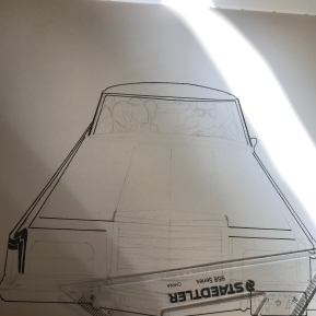Car with stars